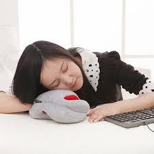 office nap. Mini Home Office Nap Pillow Portable Siesta Hand Glove Sleeping Cushion Pad