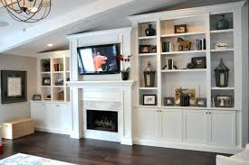 smlf flat screen above gas fireplace tv mounted enthralling cabinets built white cabinet design ideas dark gany