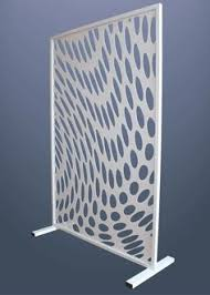 free standing screen. Perfect Screen Laser Cut Dividing Screen  Ripple Design Wwwmilesandlincolncom Cut  Panels Intended Free Standing Screen N