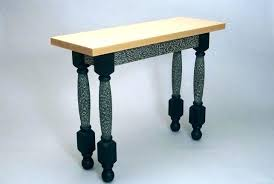 modern funky furniture. Funky Console Table Transitional Furniture Contemporary Hall Handmade Modern