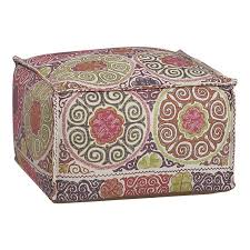 Marrakesh Pouf Crate And Barrel