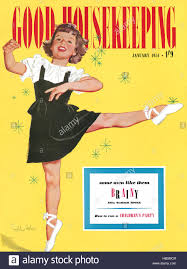 Good Housekeeping Advertising Front Cover Of Good Housekeeping Magazine For January 1951 With An