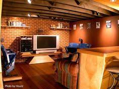 Basement ideas man cave Cool How To Create Man Cave Garage Basement Photos Ceiling Joists Design Ideas Pinterest 875 Best Man Caves Images Bar Home Basement Ideas Diy Ideas For Home