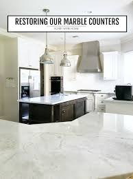 let me start by shouting from the rooftops that i love our marble counters when we were building our home seven years ago one thing i dreamed of was
