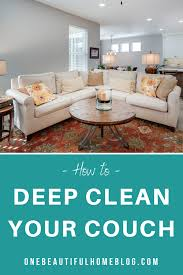 how to clean a microfiber couch it s