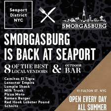 tribeca citizen smorgasburg is back at the seaport district
