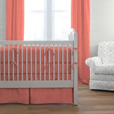 solid c 3 piece crib bedding set