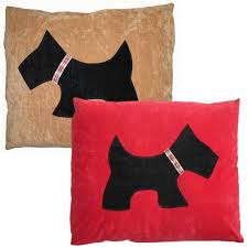 Doza Dog Cushion Scottie Dog