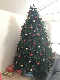 9 ft Pre-lit Rotating Christmas Tree Used for sale in Alameda - letgo