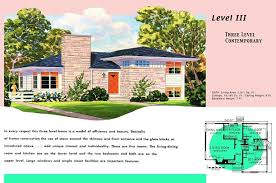 simple split level house plans inspirational ranch homes plans for america in the 1950s