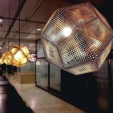 mesh chandelier tom etch designer classic stainless steel mesh spherical chandelier kitchen pendants blown glass pendant