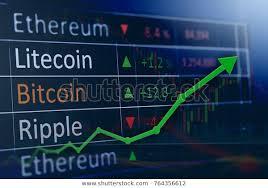 Investing Stock Market Concept Gain Profits Stock Photo