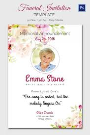 Memorial Service Invitation Template Unique Memorial Service Invitation Sample Colbroco
