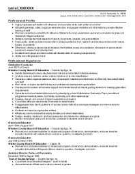 Sample Resume: 3 Credentialing Specialist Resume Exles In..