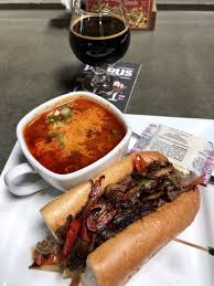 photo of mandeville beer garden sarasota fl united states prime sandwich with