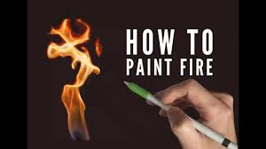 Procreate painting tutorial - HOW TO PAINT FIRE - on an iPad Pro ...