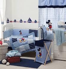 mickey mouse crib sheet set baby bedding designs disney blue mickey mouse 4 piece crib bedding set
