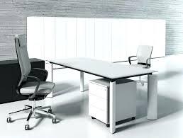 glass executive desk contemporary computer