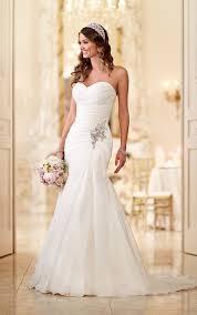 best 25 strapless wedding gowns ideas