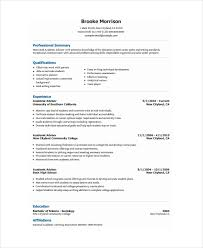 Academic Advisor Resume