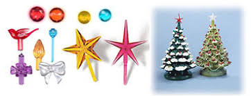 Ceramic Christmas Tree Lights, Bulbs, Ornaments and Decorations