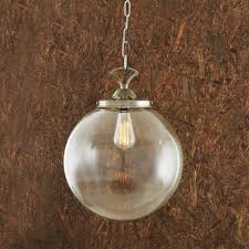 globe pendant lighting. picture of riad clear globe pendant light 35cm lighting t