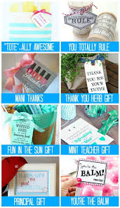 goodbye gifts for teachers