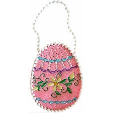Machine Embroidery Jewelry Designs Easter Egg Treatbag Embroidery Design 3 99 Golden