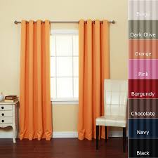 decoration cool and nice multi color window curtains with orange dainty treatment design for any rooms inspiration curtains around bed contemporary home