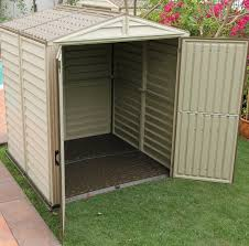 outdoor storage sheds for sale. upvc outdoor garden storage buildings, robust steel reinforced plastic sheds for sale
