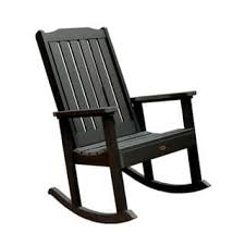 rocker patio chairs. highwood eco-friendly marine-grade synthetic wood lehigh rocking chair rocker patio chairs