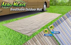 presto fit aero weave outdoor patio mat