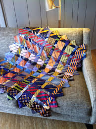 Best 25+ Tie quilt ideas on Pinterest | Necktie quilt, Dresden ... & Memories Tie Quilt by Renay Martin of Pursestrings . . . . . der Blog für Adamdwight.com
