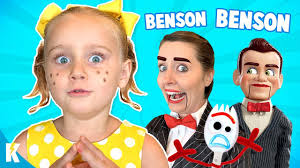 Gabby Gabby brings Benson to LIFE!: Toy Story 4 Movie Hide and Seek Game    KIDCITY - YouTube