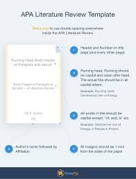Apa  th edition references dissertation    Writing essay songs literature review template sample literature review