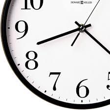 office clock wall. Howard Miller 625-254 Office Mate Wall Clock Bottom