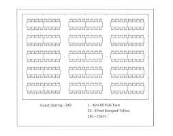 Tent Seating Chart Tent Seating Chart For Ceremony Purposes The Tent Will