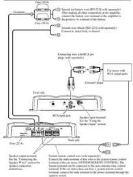 rockford fosgate punch 200a4 car audio amplifier wiring diagram i want to hook up a slim sub for my truck using wiring diagram