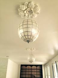 ideas best chandelier medallion of ceiling s images on than beautiful paint smart elegant ceili