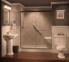 large walk in shower change bathtub to small cost to replace