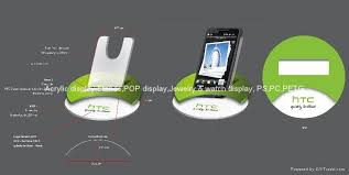 Cell Phone Display Stands Acrylic Mobile Phone Display Stand Cell Phone Display Stand APD 73