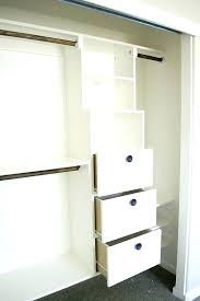 built in closet drawers how to build closet storage in closet dresser best ideas on built