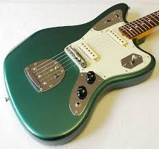 a very sparkly 1963 fender jaguar this will give you all the fender jaguar johnny marr limited sherwood green