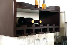 full size of wood wall mounted wine glass rack wooden hanging racks hung holders for the