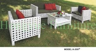 white outdoor patio furniture. white wicker outdoor patio furniture set with cushion and pilllows o