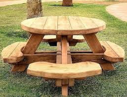 wood picnic table plans interior round picnic table plans pretty wood engaging square wood picnic table