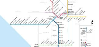 la metro map a beginner's guide to the los angeles metro system