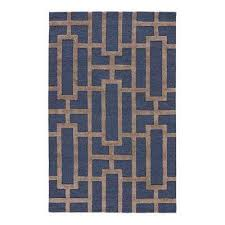 meval blue 12 ft x 15 ft trellis area rug