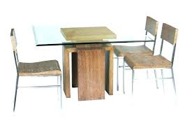 glass table with wood base glass table with wood base wooden top dining table furniture solid