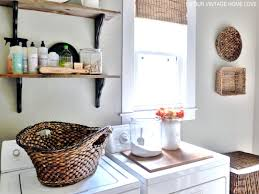 Diy Laundry Room Decor Small Laundry Room Storage Ideas Pinterest Large White Garage